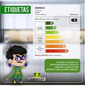 Etiquetas ahorro energético