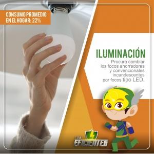 Iluminación, consejos de ahorro energético