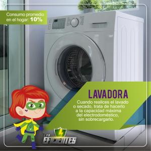 Lavadora, consejos de ahorro energético