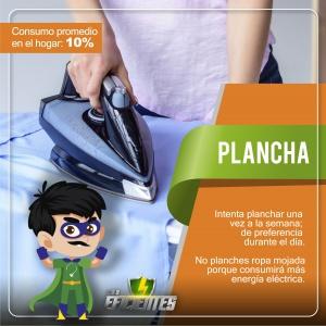 Plancha, consejos de ahorro energético
