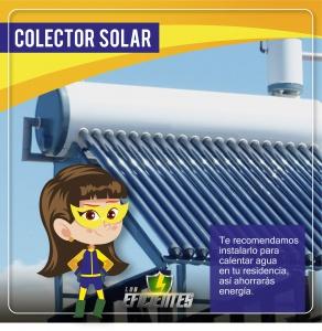Colector solar, consejos de ahorro energético