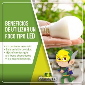 Foco LED, consejos de ahorro energético